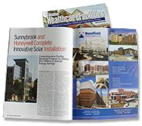 Bondfield Full Page Ad for Healthcare Facilities Publication