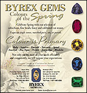 Byrex Gems Colours of the Spring Ad
