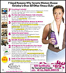 7 Good Reasons Why Toronto Women Choose Christine's Over All Other Fitness Clubs