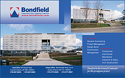 Bondfield Constructors Architectural Leaders Ad