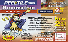 Peel Tile Renovation Sale