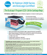 Ralston EcoLogo Program for Garbage Bags