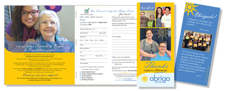 Abrigo Centre - Grateful Client Brochure