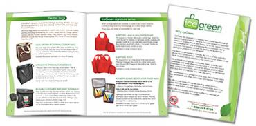 Ice Green Recycled Bags Brochure