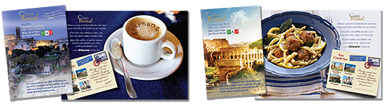Unisource Ciao Roma Contest 2012 Personalized Mailer