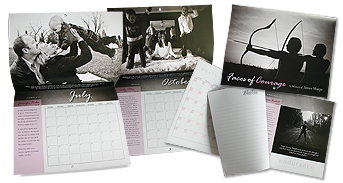 Faces of Courage Calendar and Planner for 2011 - Breast Cancer Fundraising Initiative