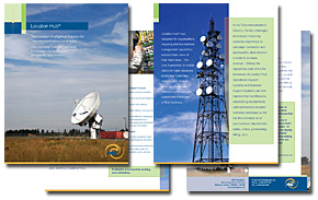 DMTI Spatial Location Hub Telecommunications Brochure