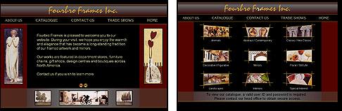 Fourbro Frames on-line catalogue; currently offline