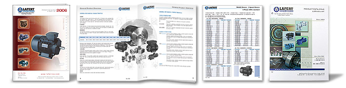 Printed catalogues for Lafert North America