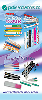 Profile Accessories Vertical Banner for Hobby Shows