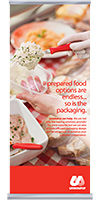 Unisource Prepared Food Packaging Banner