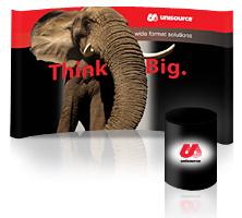 Unisource Think Big Booth