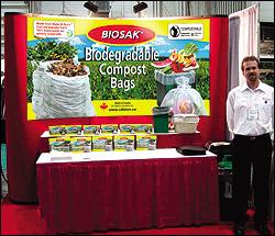 Biosak Trade Show Booth