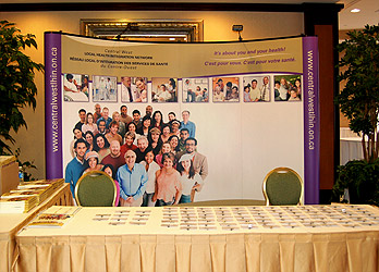 Central West Local Health Integration Network booth