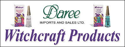Daree Imports and Sales Witchcraft Products Banner