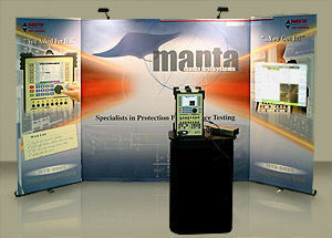 Manta Test Systems Booth