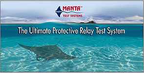 Manta Test Systems 4ft x 2ft vinyl banner