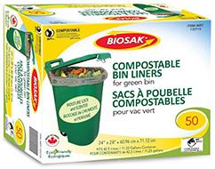 BIOSAK Compostable Bags Curbside