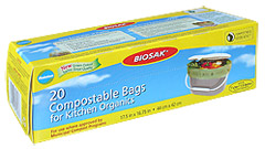 Ralston BIOSAK Compostable Bags for Kitchen Organics