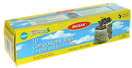 Ralston BIOSAK Compostable Bags for Leaf and Yard Waste