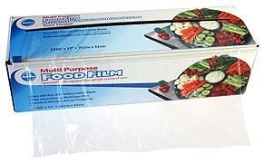 Ralston Multi Purpose Food Film re-usable, wipeable box with sliding blade