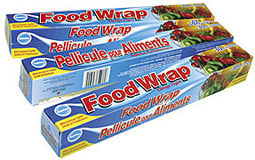 Ralston Food Wrap package with cutter