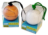 """Sports"" Soap-on-a-Rope"