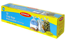 Supersak Clear Bags