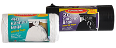 Supersak Kitchen and Garbage Bag Rolls
