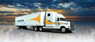 Polaris Transportation Group Truck  Photography for Marketing Collaterals