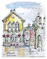 Stella Jurgen Sketch: Cashel, Ireland
