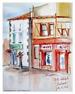 Stella Jurgen Sketch: Waterford City, Ireland