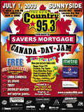 Canada Day Poster 2003