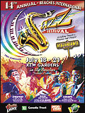 Beaches International Jazz Festival Poster 2002