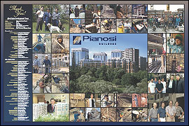 Pianosi Builders Poster