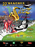 Beaches International Jazz Festival Poster 2010