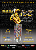 Beaches International Jazz Festival Poster 2008