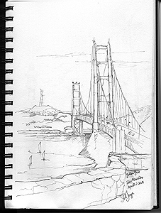 Stella Jurgen - Urban Sketch