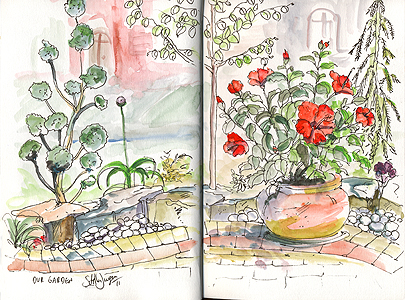 Stella Jurgen - Our Garden, Oakville