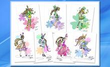 Fashion & Beauty illustration, Children's Book illustration, Cartoon illustration, sketch, illustration
