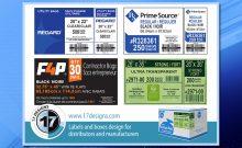 packaging labels, box label, manufacturer packaging, distributor packaging labels