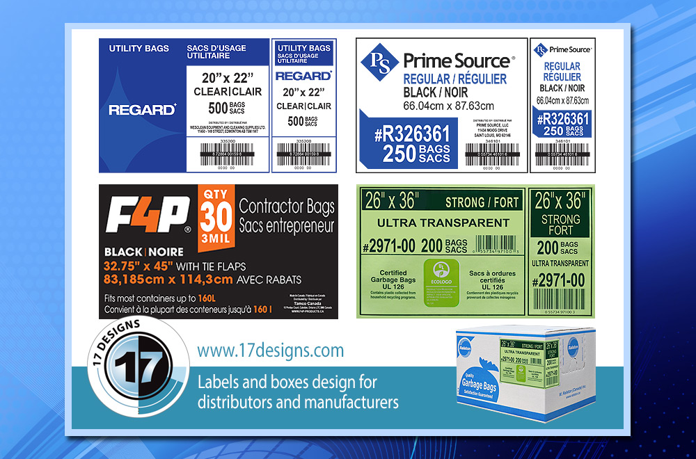packaging labels, box label, manufacturer packaging, distributor packaging labels