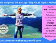 Stop Abuse Against Women, Stella Jurgen, Squamish, BC