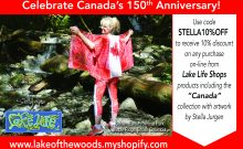 Canada 150th Anniversary apparel