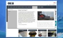 MegaMenu, product line, web enhancement, web design