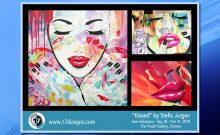Kissed Solo Exhibition, Stella Jurgen