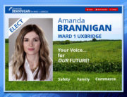 Ward 1Uxbridge, WordPress Website, Amanda Brannigan