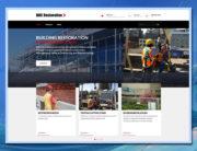 BRC Restoration, WordPress website, web design, website design, web development