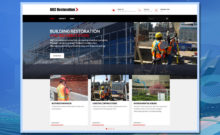 BRC Restoration, WordPress website, web design, website design, web development