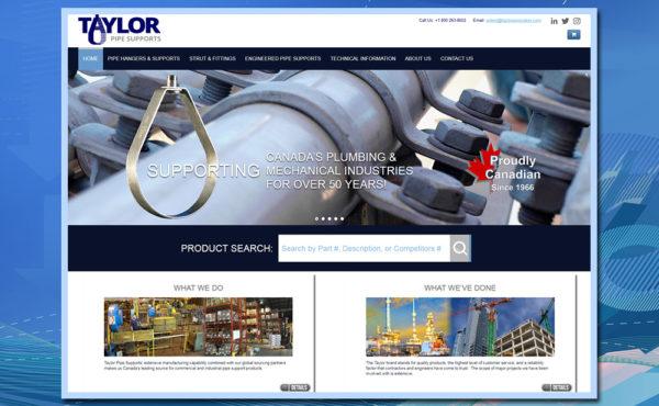 product website, manufacturer website, PHP 7, custom website, HTML5 website, MySQL database, relational database